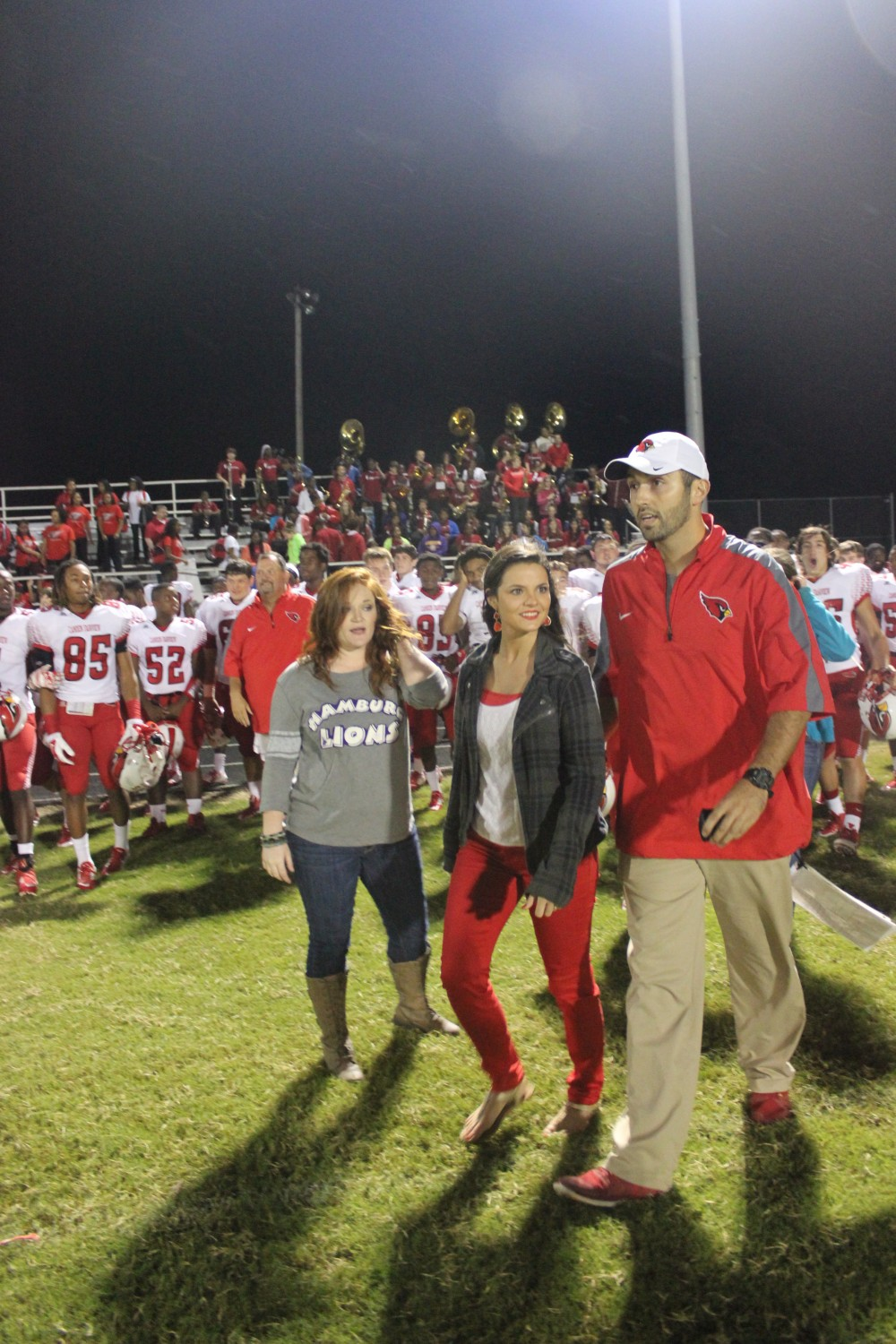 Image 1 of Hayley and Rob's Football Rival Proposal