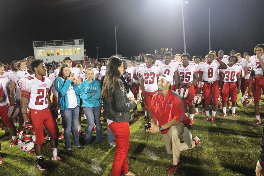 Image 4 of Hayley and Rob's Football Rival Proposal
