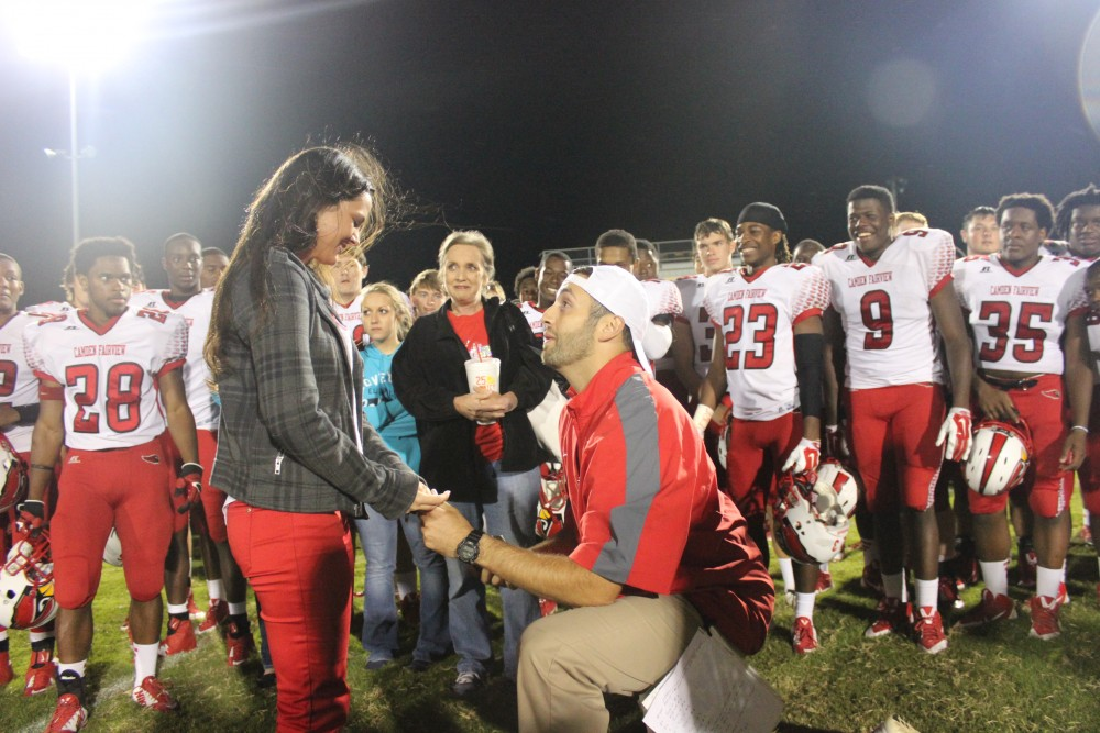 Image 5 of Hayley and Rob's Football Rival Proposal