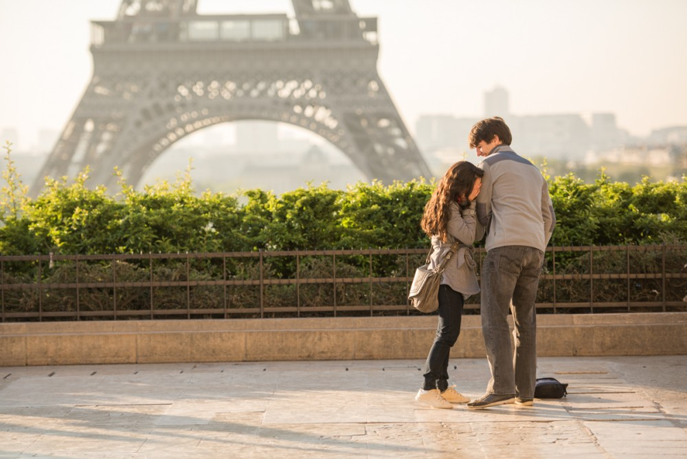 Romantic Marriage Proposal in Paris_2
