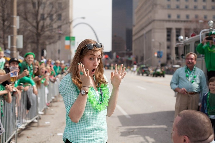 Image 11 of Nathan and Brighton's St. Patrick's Day Parade Proposal