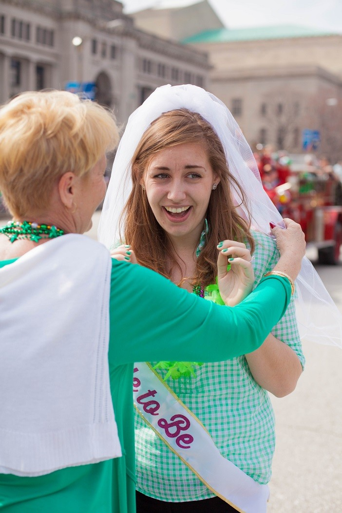 Image 23 of Nathan and Brighton's St. Patrick's Day Parade Proposal