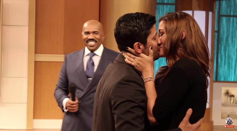 Image 2 of Chelsea and Aaron's Marriage Proposal on The Steve Harvey Show