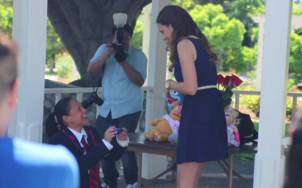 Jackie Ann Glee Proposal
