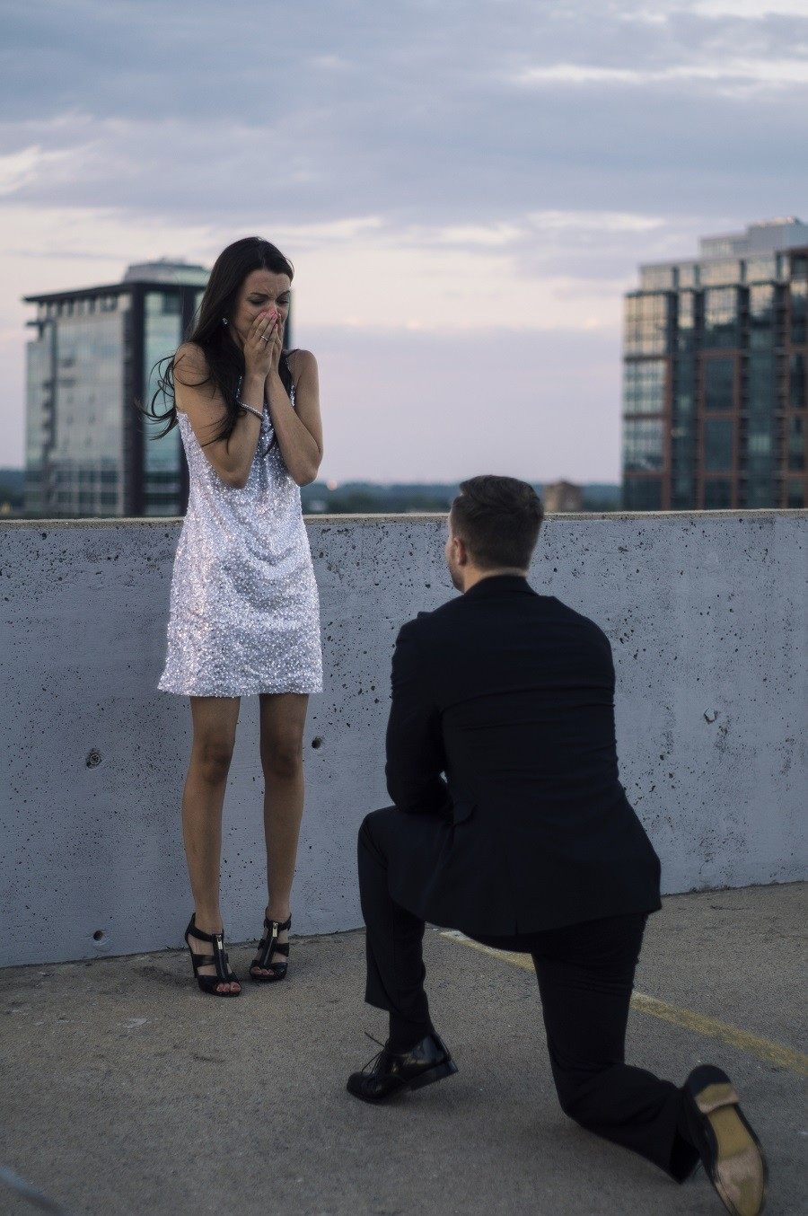 Image 6 of Guy Fakes an Entire Action Film to Propose to his Girlfriend