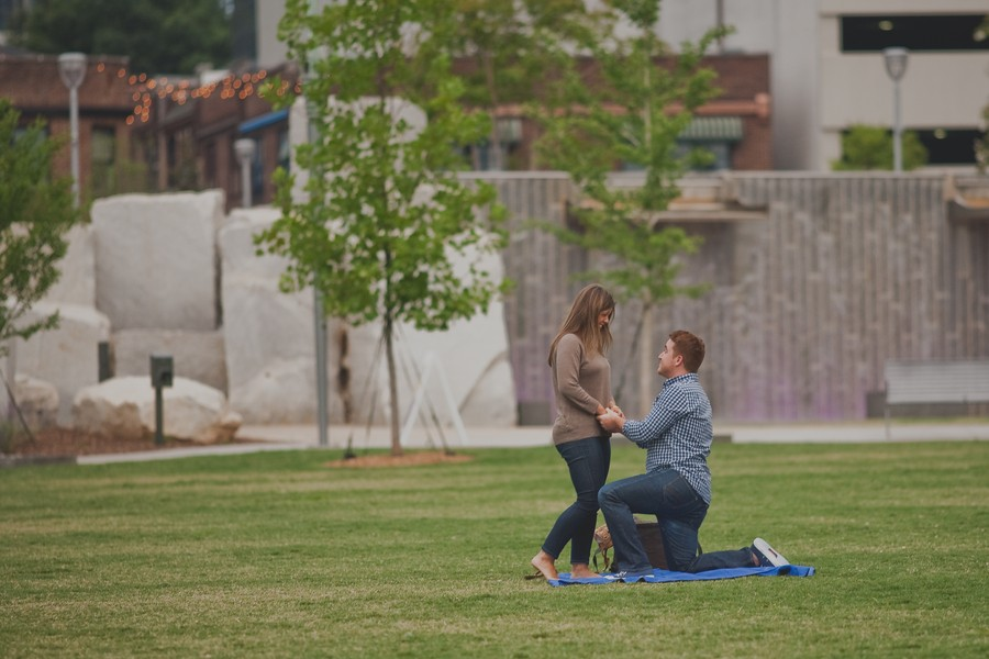 Image 4 of Rachel and Justin's Surprise Marriage Proposal in Charlotte