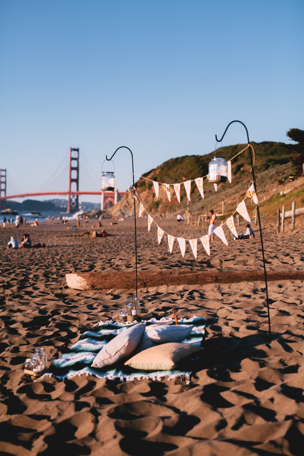Surprise Proposal on Baker Beach
