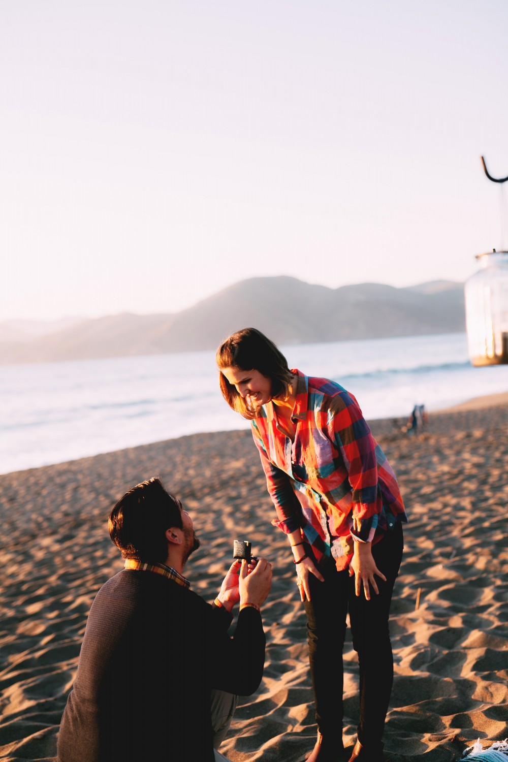 Image 5 of Kiersten and Zachary's Surprise Proposal on Baker Beach