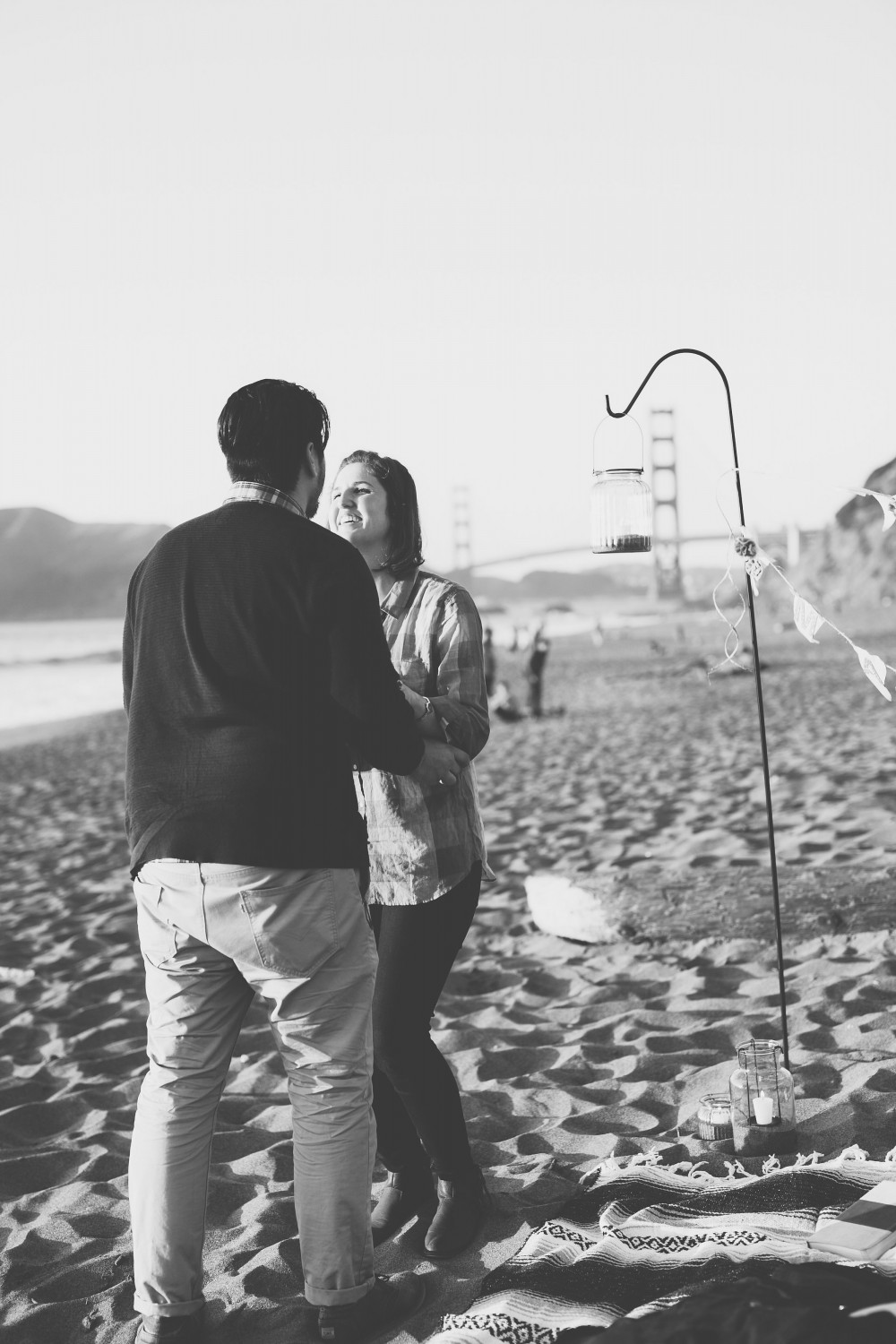 Image 4 of Kiersten and Zachary's Surprise Proposal on Baker Beach