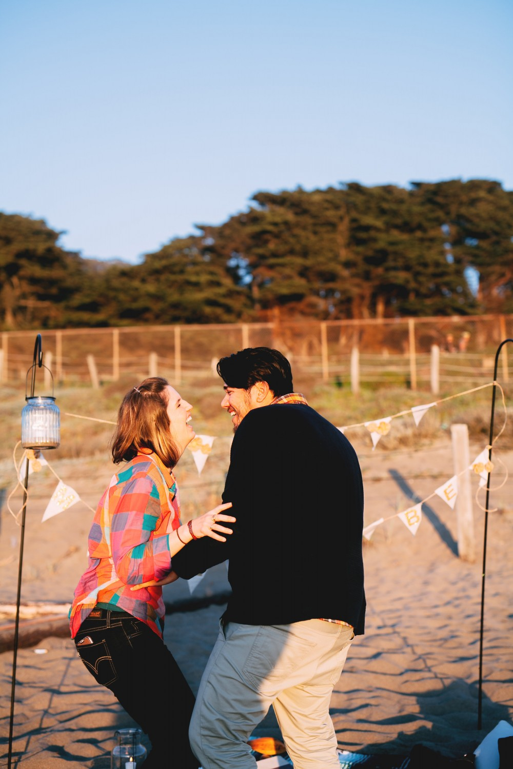 Image 3 of Kiersten and Zachary's Surprise Proposal on Baker Beach