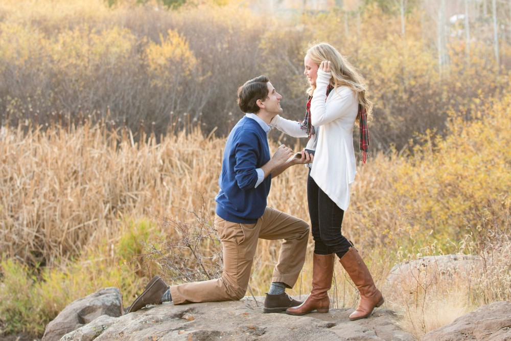 Image 9 of Surprise Proposal in the Woods
