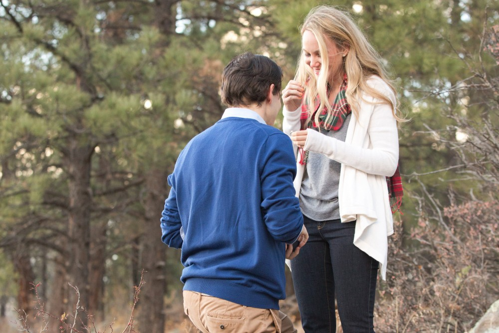 Surprise Proposal in the Woods (11)