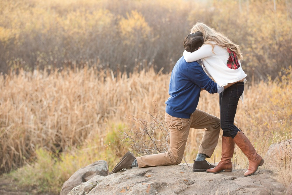 Image 11 of Surprise Proposal in the Woods