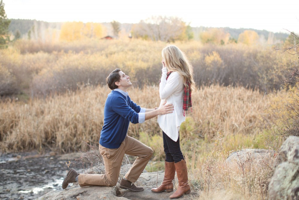 Image 3 of Surprise Proposal in the Woods