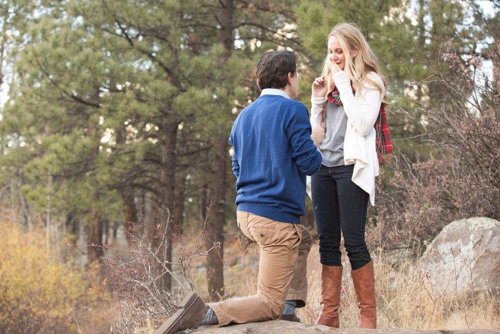 Image 8 of Surprise Proposal in the Woods