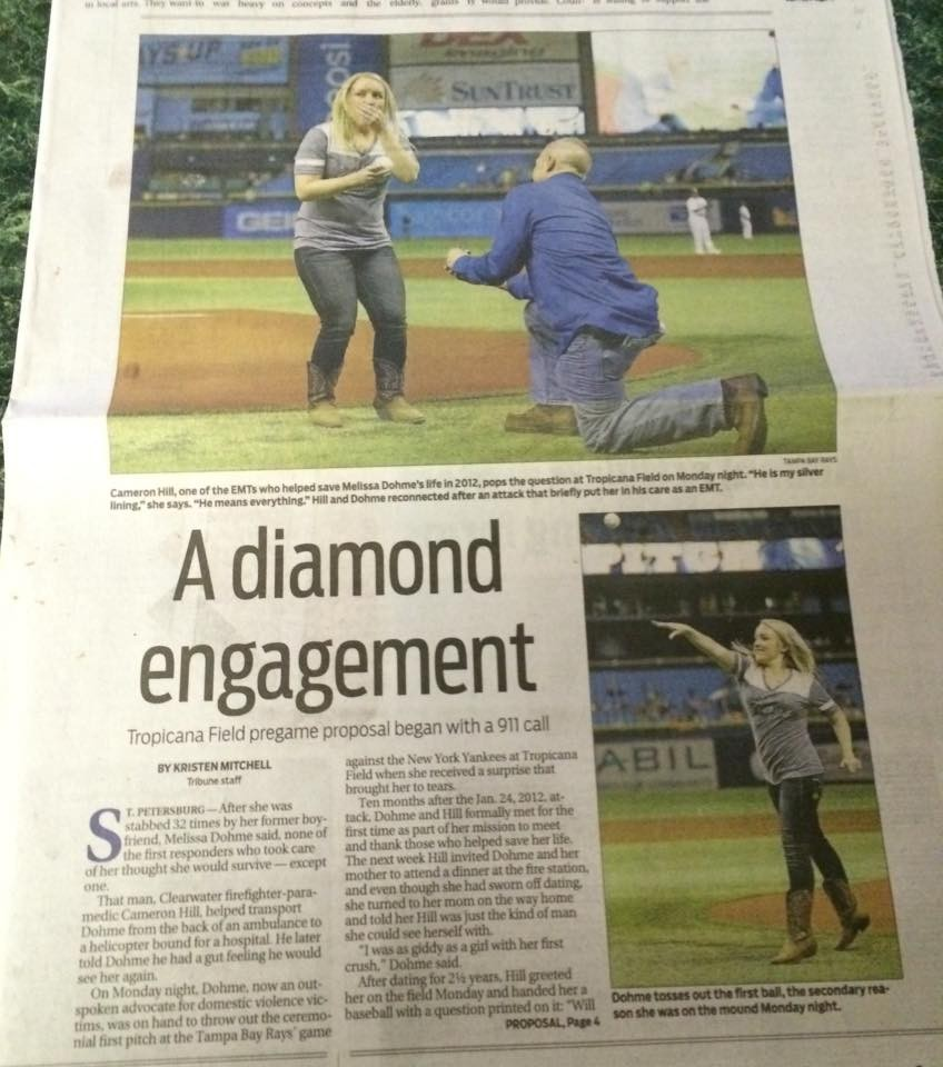 Image 6 of Domestic Violence Survivor Gets Engaged to the Man Who Saved Her Life