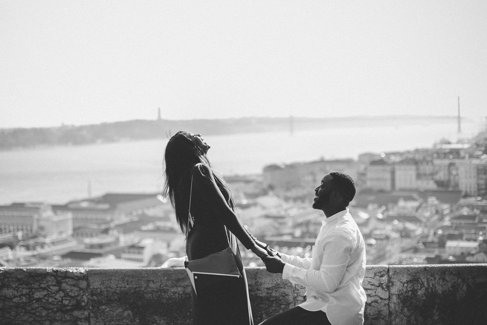 Image 6 of Kojo & Faith | Lisbon Proposal