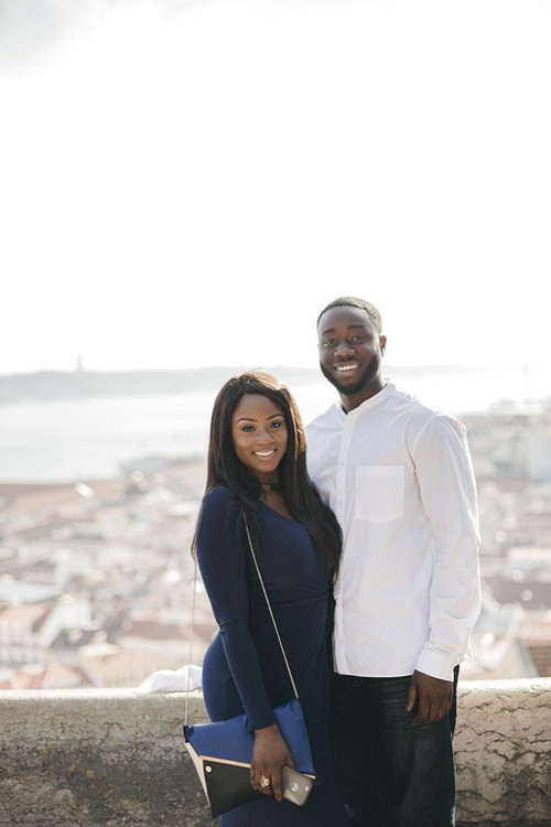 Image 1 of Kojo & Faith | Lisbon Proposal