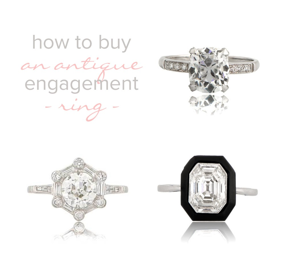 Image 1 of How to Buy an Estate or Antique Engagement Ring