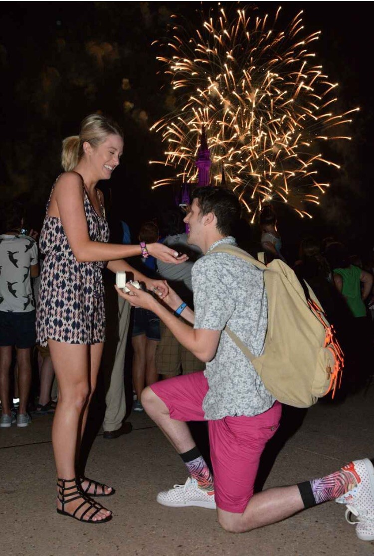 Image 2 of He Pulled Off the Disney Proposal of Her Dreams
