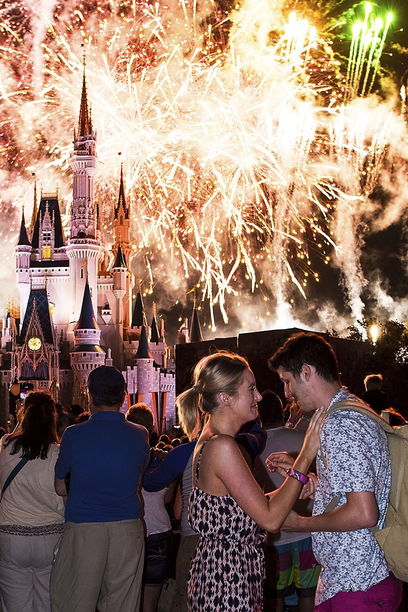 Image 4 of He Pulled Off the Disney Proposal of Her Dreams