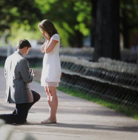 Image 1 of Thomas and Charlotte | Proposal at the Grove