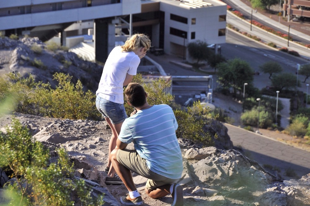 Image 2 of Mikah and Brad's Mountaintop Proposal