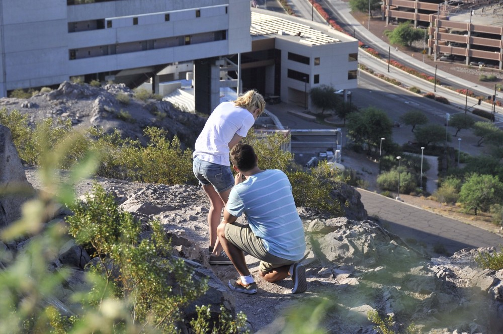 Image 3 of Mikah and Brad's Mountaintop Proposal