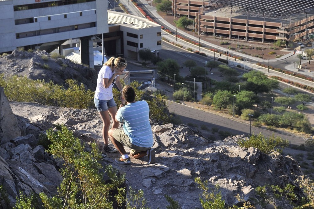 Image 5 of Mikah and Brad's Mountaintop Proposal