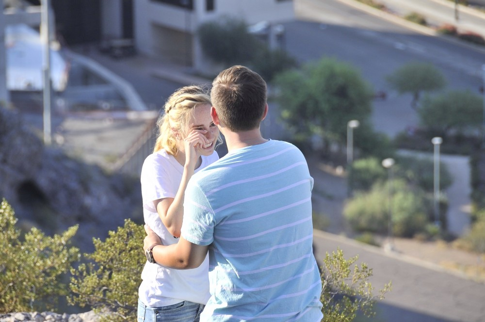 Image 6 of Mikah and Brad's Mountaintop Proposal