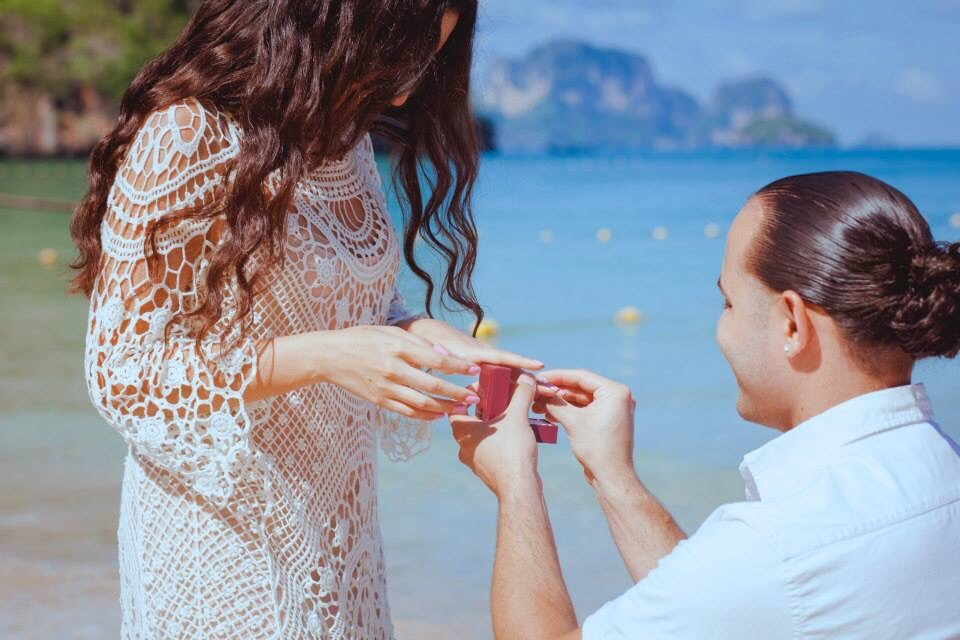 Image 2 of Liliana and Mario's Proposal in Thailand