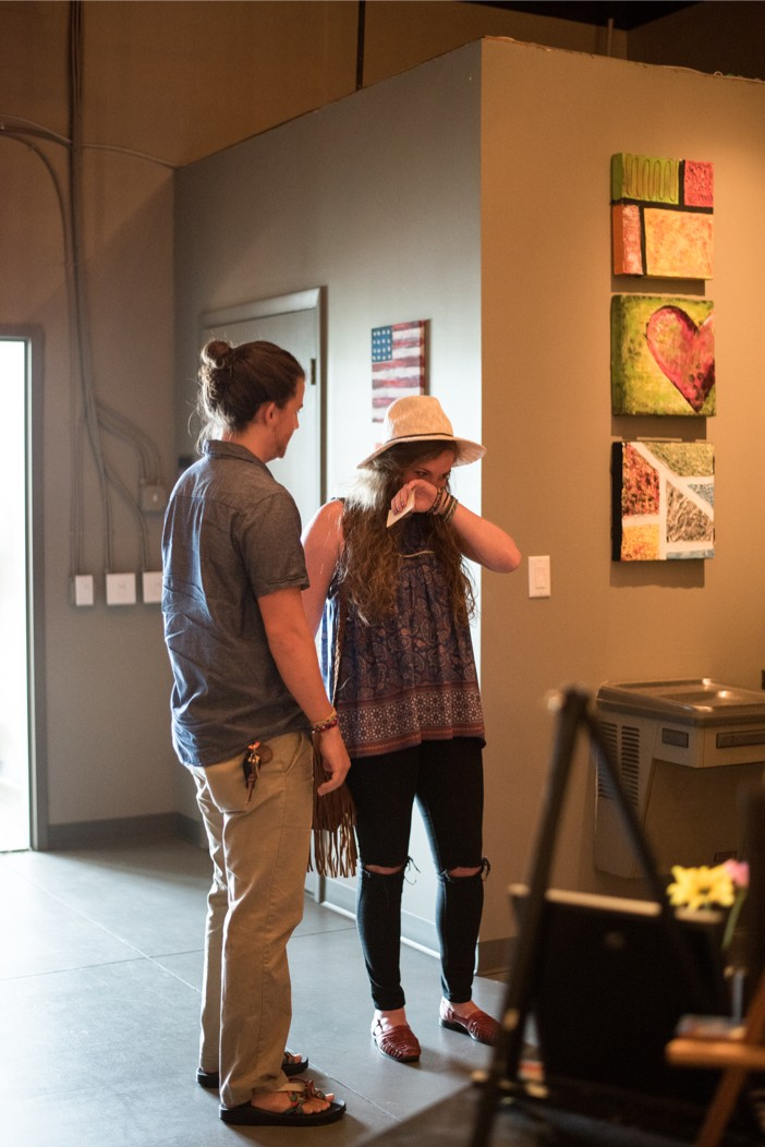 Image 6 of Morgan and Logan's Super Romantic Marriage Proposal