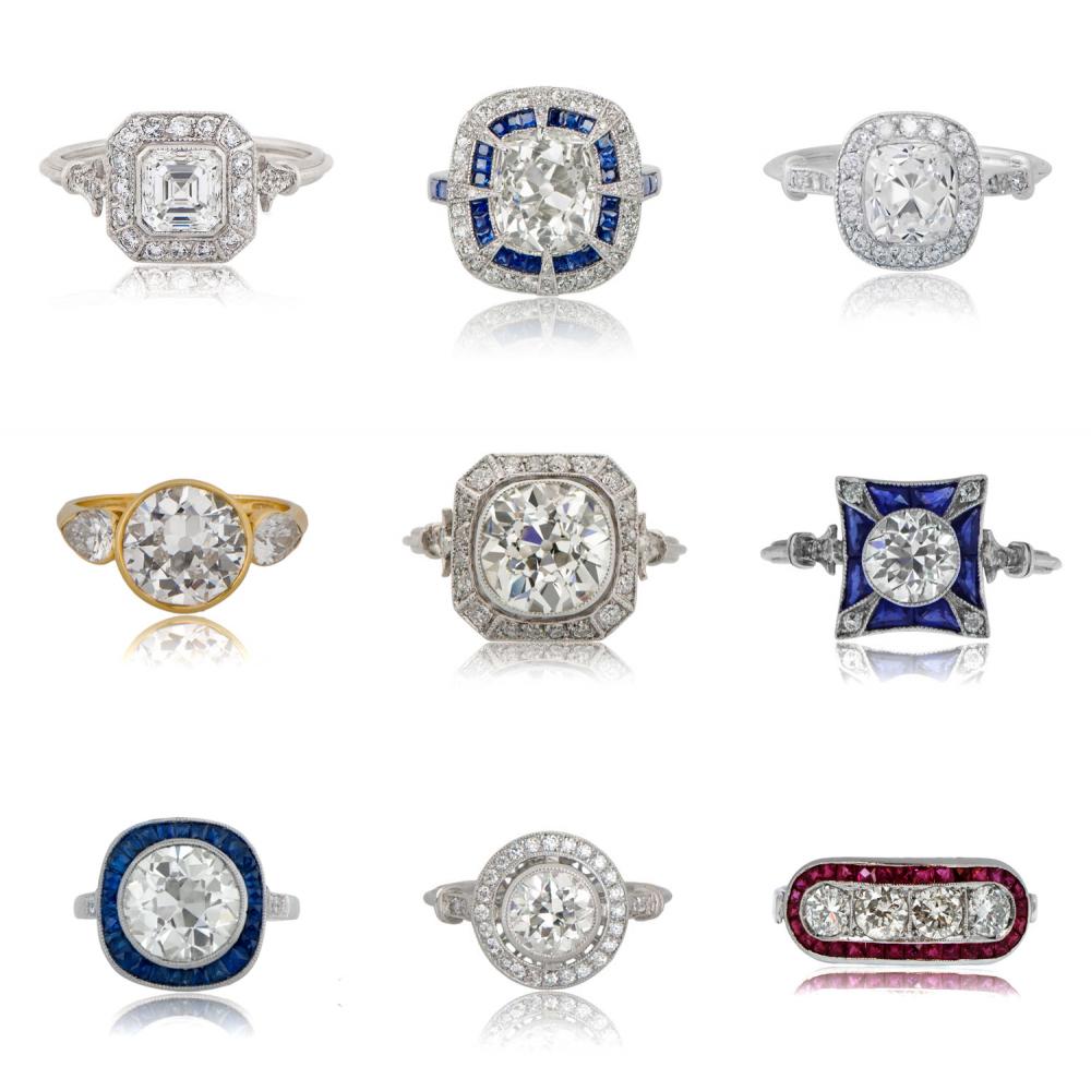 vintage-engagement-rings