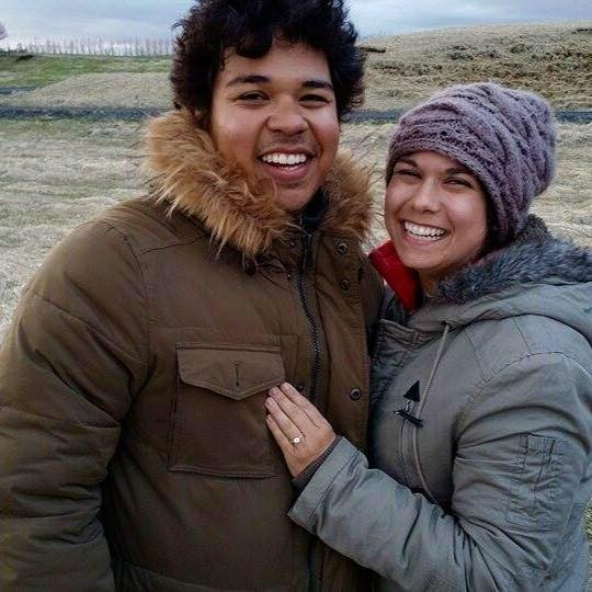 Image 1 of Jennifer and Cesar's Marriage Proposal in Iceland