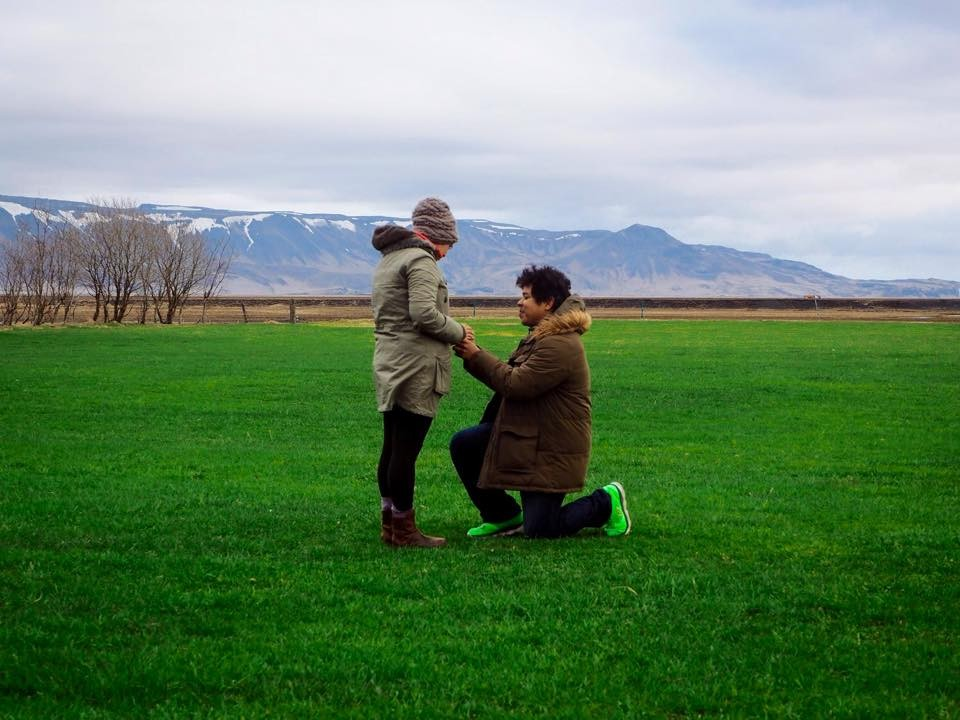 Image 2 of Jennifer and Cesar's Marriage Proposal in Iceland