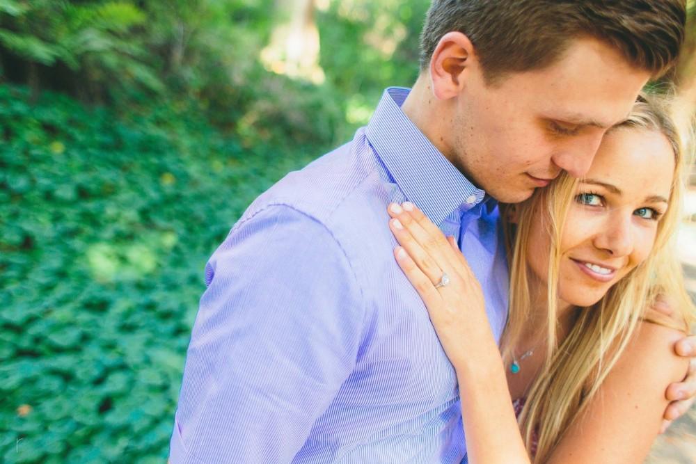 Image 2 of Joelle and Matthew's Marriage Proposal at the Santa Barbara Botanical Garden