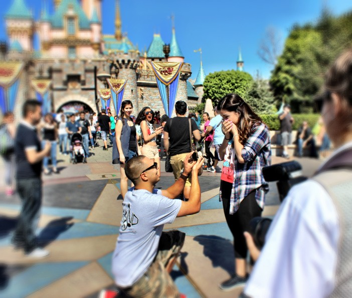 Image 9 of Disneyland Marriage Proposals - Because How Else Would We Celebrate Disneyland's 60th Birthday?!