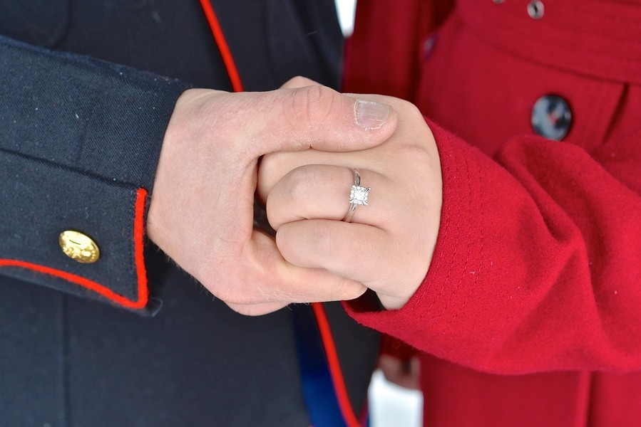 Image 5 of A Snowy Photoshoot Turns Into a Surprise Marriage Proposal