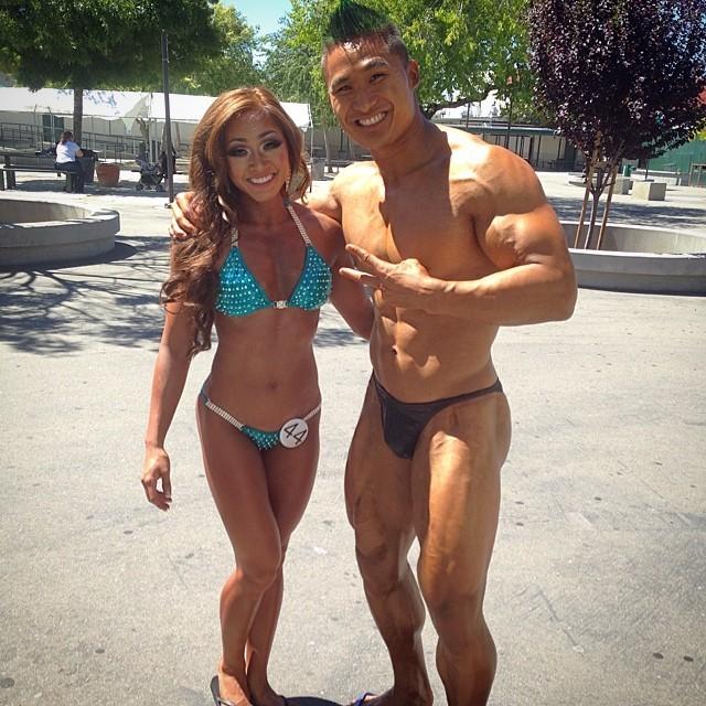 Bodybuilding Show, as friends