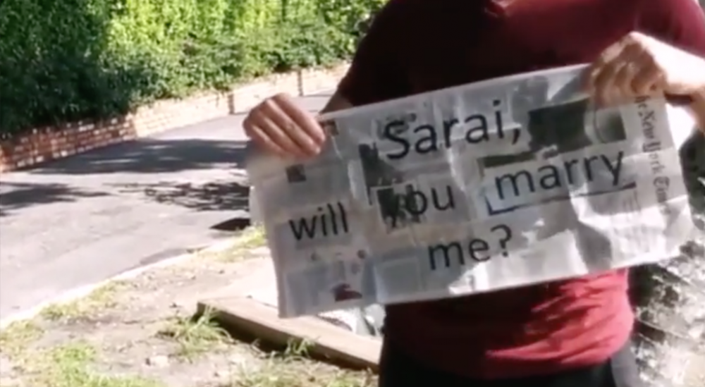 Image 4 of Sarai and Nathan's Incredible Magic Trick Proposal