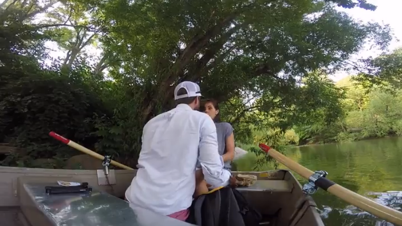 Image 5 of A Central Park Boat Surprise Marriage Proposal
