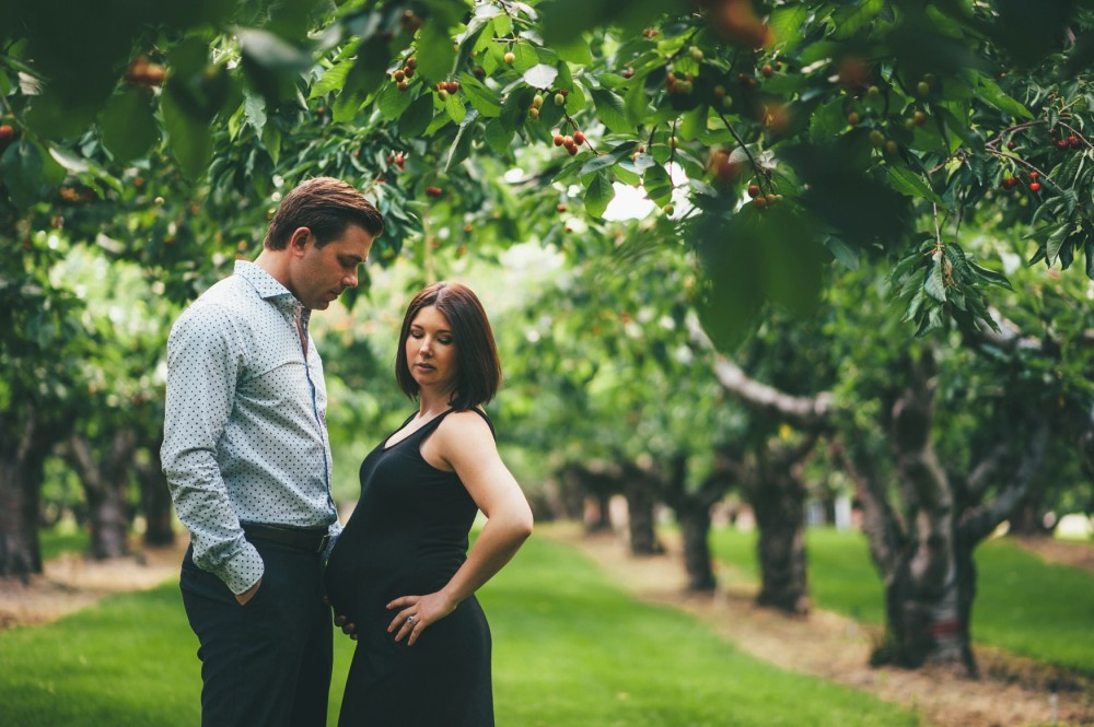 Surprise Proposal during Maternity Shoot