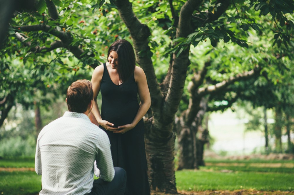 Image 8 of Surprise Proposal during Maternity Shoot