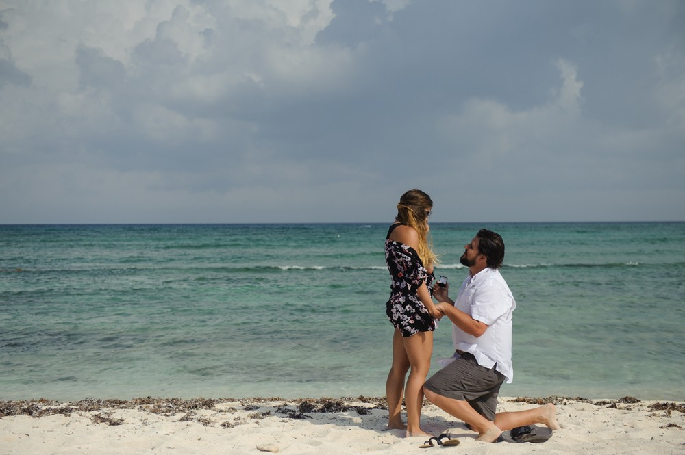 Image 8 of Alesha and Scott's Proposal in Riviera Maya