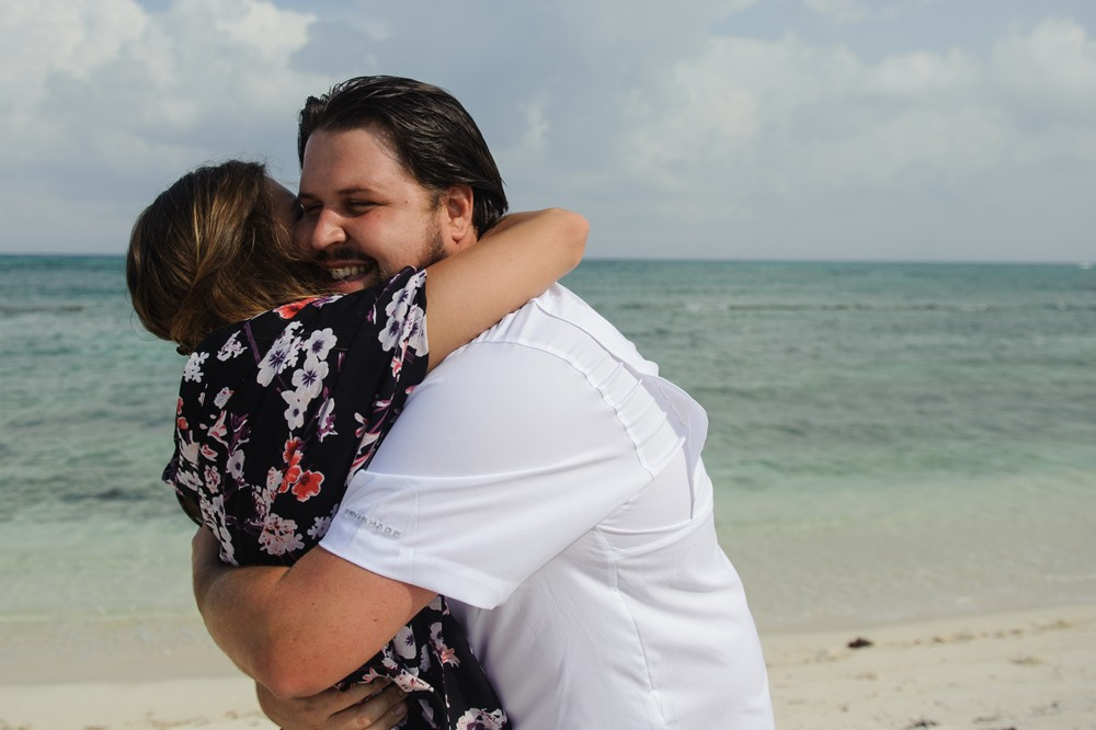 Image 6 of Alesha and Scott's Proposal in Riviera Maya