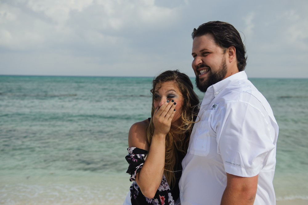 Image 3 of Alesha and Scott's Proposal in Riviera Maya