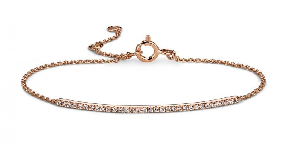 Diamond Bar Bracelet from Blue Nile