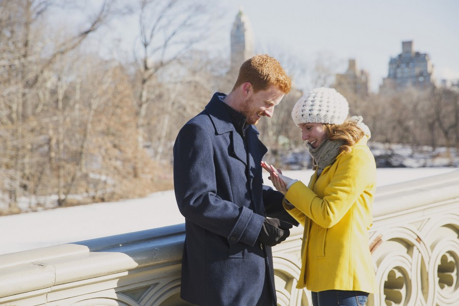 Image 7 of Elizabeth and Zack's Sweet Marriage Proposal in New York City