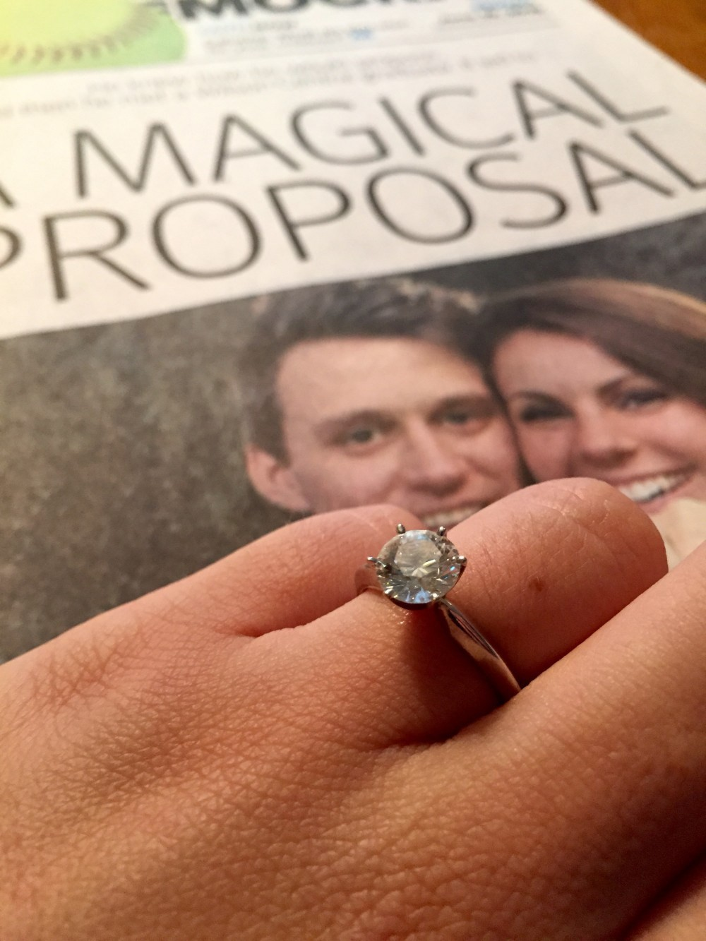 Engagement Ring Magic
