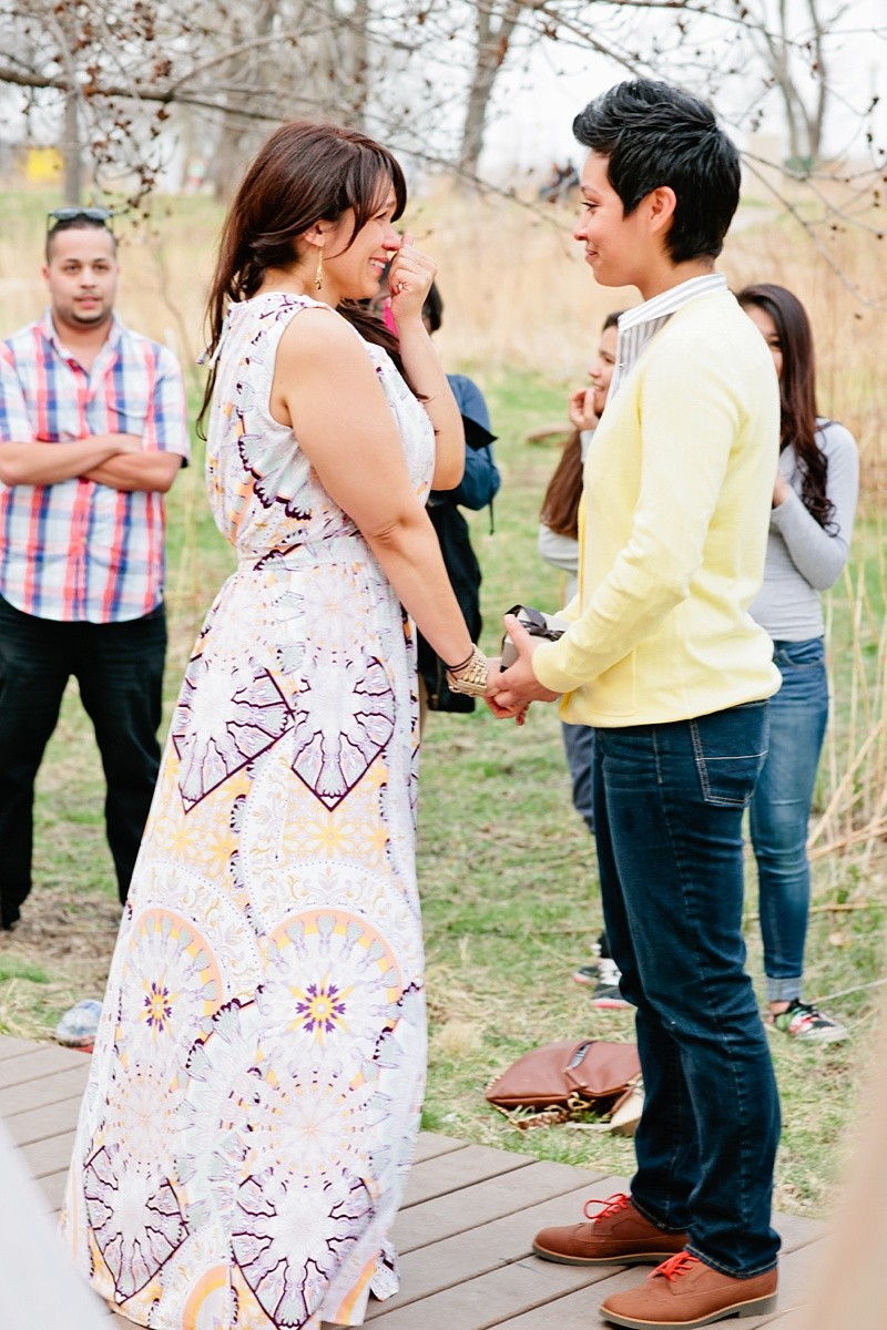 Image 11 of How She Asked: A Family-Centered Surprise Marriage Proposal